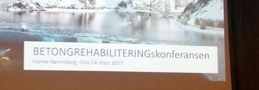 Årets Betongrehabiliteringsdager er avviklet på Fornebu med ca. 80 deltakere. med stor suksess!